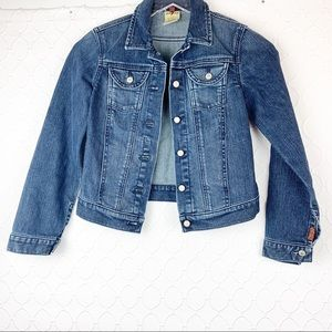Seven 7 For All Mankind SFAM Juniors Jean Jacket M
